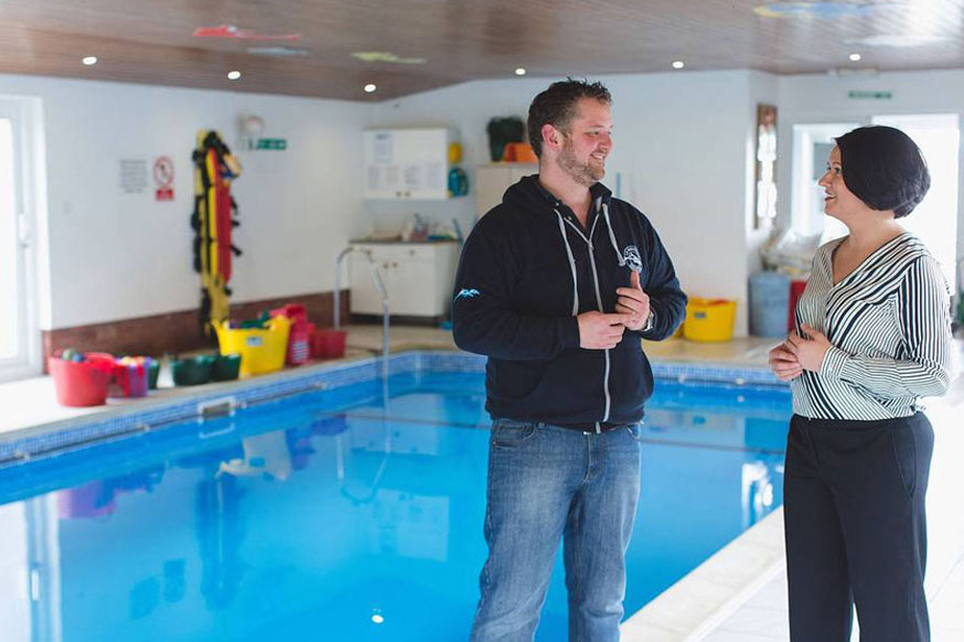 <p>The Parris family have been teaching other families to swim for over 40 years in the best environment for all ages and all abilities.